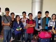 印尼地震和海啸:10名越南大学生已被安全送往帕卢机场