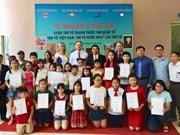 """题为""""我画越南——我画俄罗斯""""的国际绘画大赛颁奖仪式在河内举行"""