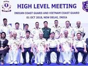 越南海警船首访印度