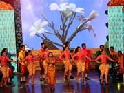 第一届九龙江三角洲地区高棉族民歌联欢会正式开幕