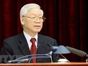 越共十二届八中全会:阮富仲总书记被提名为国家主席人选