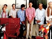 柬埔寨:8名嫌疑人被指控参与组织武装团体和贩运武器
