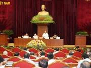 越共十二届八中全会第三天新闻公报