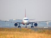 越捷航空搭载援助物资的航班飞往雅加达进行人道主义救援活动