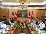越美两国举行国防政策对话会