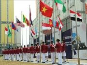 2018年第三届亚残会:越南体育代表团在雅加达举行升旗仪式