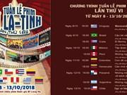 第六届越南拉丁美洲电影周即将在河内举行