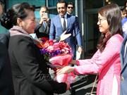 越南国会主席阮氏金银出席第三届欧亚国家议长会议并对土耳其进行访问