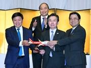 越捷开通越南至日本三个直达航线