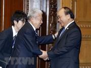 越南政府总理阮春福会见日本众议院议长和日本参议院议长