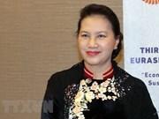 越南国会主席阮氏金银对土耳其进行正式访问
