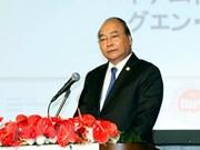 越南政府总理阮春福主持召开越日投资促进会