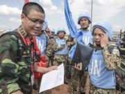 越南国防部派遣干部代表团协助一号二级野战医院
