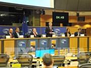 欧洲议会国际贸易委员会举行《越南与欧盟自由贸易协定》听证会