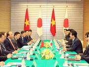 阮春福访日:为多边合作作出重要贡献  越日纵深战略伙伴关系更加紧密