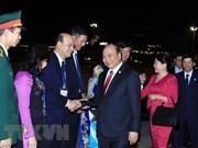 阮春福圆满结束访日及出席日本与湄公河流域国家峰会之行