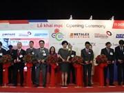 技术和生产解决方案系列展览会在胡志明市开幕
