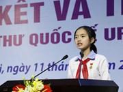 越南学生在UPU国际少年书信写作比赛荣获三等奖