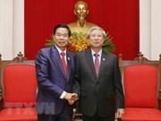 着力加强老挝首都万象与越南各地的合作