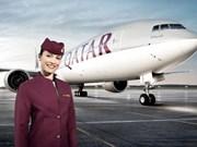 卡塔尔航空飞往越南的第三条直达航线将于12月份开通
