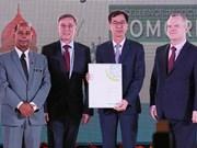 越南荣获国际社会保障协会授予的奖状