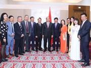 政府总理阮春福会见旅居欧洲越南人协会联合会代表