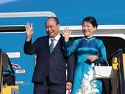 越南政府总理阮春福抵达维也纳开始对奥地利进行正式访问
