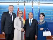 政府总理阮春福访问下奥地利州
