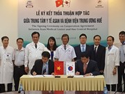 顺化中央医院与韩国峨山医疗中心合作实施肝移植领域合作计划