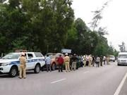 越南广平省公安破获一起特大运输毒品案获表彰