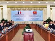 胡志明市与法国里昂市加强合作关系