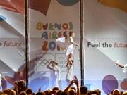 2018年布宜诺斯艾利斯青年奥林匹克运动会闭幕 越南代表团共夺两金
