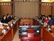 胡志明市与中国上海市加强人民代表工作交流