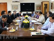 越南共产党代表团以特邀贵宾身份访问印度