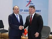 政府总理阮春福出席第十二届亚欧首脑会议期间举行多场双边会晤