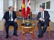 越南与丹麦发表联合声明