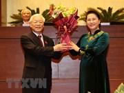 各国领导人向越共中央总书记、国家主席阮富仲致贺电