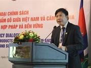 越南与柬埔寨就木材贸易政策进行对话