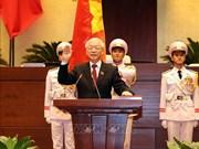 世界各国领导人向当选越南国家主席的阮富仲总书记致贺电