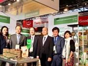 河内贸易总公司在巴黎国际食品展成功签订多项农产品出口合同