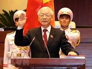 印度总统和印度共产党致电祝贺阮富仲总书记当选国家主席
