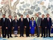 中国外长王毅:中方重视东盟在区域合作中的中心地位