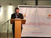 越南与乌拉圭建交25周年纪念典礼在乌拉圭举行