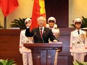 国际媒体密集报道总书记阮富仲当选国家主席一事