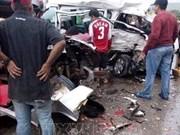菲律宾发生严重交通事故 造成11人死亡