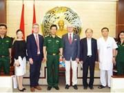 德国医疗代表团访问越南