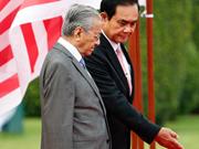 泰国和马来西亚两国领导讨论安全合作