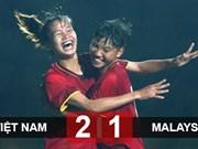 2019年亚洲U19女足预选赛第一阶段:越南队2比1逆转战胜马来西亚队