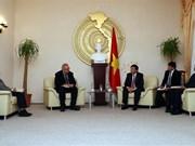 越南工作代表团赴德国进行考察交流