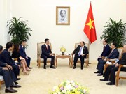 越南政府总理阮春福会见可口可乐集团总裁